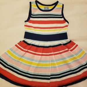 Baby Gap stripes dress size 2
